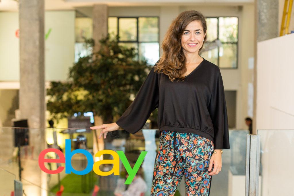 Susana Voces, directora general de eBay en España.